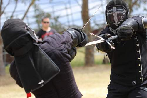Longsword fighting